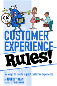 Customer Experience Rules Jeofrey Bean Book Cover