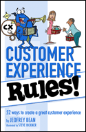 Customer Experience Rules Jeofrey Bean Book Cover sml